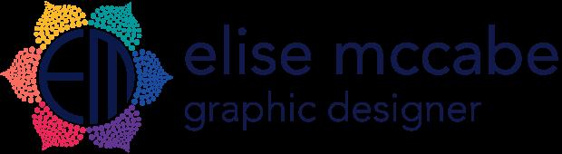 Elise McCabe, graphic and web designer